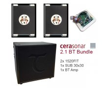 Cerasonar BASIC package: 2x1520FIT + SUB + BT Amp Malta, 		    							CeraSonar Collection Malta, The Light Shop Malta Malta