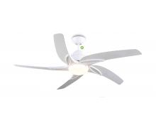 "Fan VIPER 5 blade WHITE 54"" 137cm Malta, 		    							Ceiling Fans Malta, The Light Shop Malta Malta"