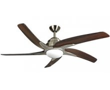 "Fan VIPER PLUS 5 blade Bronze / mahogany 54"" Malta, 		    							Ceiling Fans Malta, The Light Shop Malta Malta"
